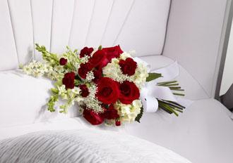 Ornement de Cercueil a Jamais Dans Notre Coeur