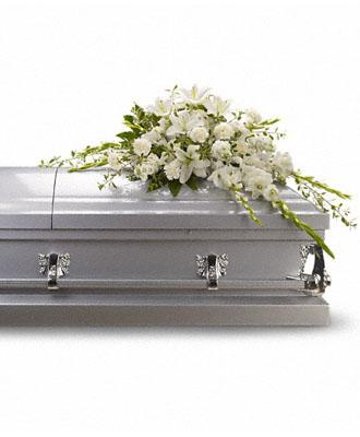 Gerbe de Cercueil Mémoire Généreuse