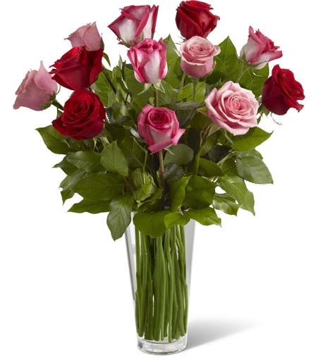 Bouquet de Rose Romance Vraie