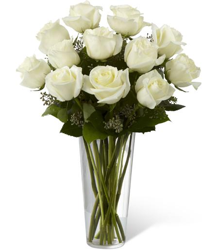 Bouquet De Rose Blanche Livraison De Fleuriste Local