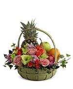 Fruits et Fleurs Panier