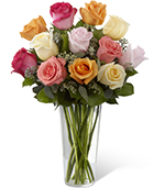 Bouquet de Rose  Gracieuse Splendeur