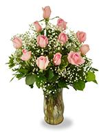 Précieuses Roses de Couleur Rose