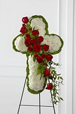 Chevalet Croix de Fleurs