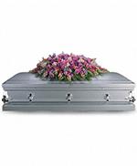 Gerbe de Cercueil Hommage de Lavande