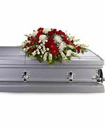 Gerbe de Cercueil Force et Sagesse