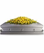 Gerbe de Cercueil Jardin en Or