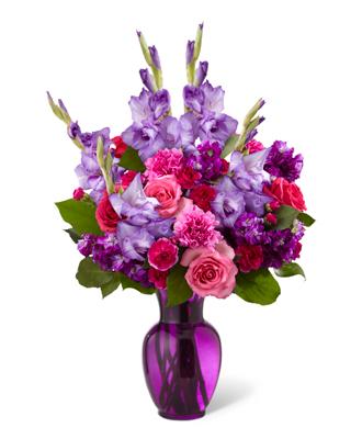 Bouquet Pensée Tendre