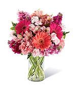 Le bouquet de beauté rougissante
