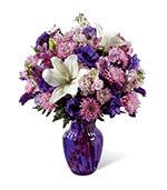 Les nuances du bouquet violet