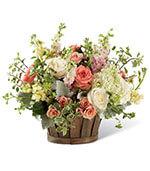Le bouquet de jardin généreux
