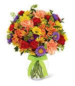 La lumière et le joli bouquet