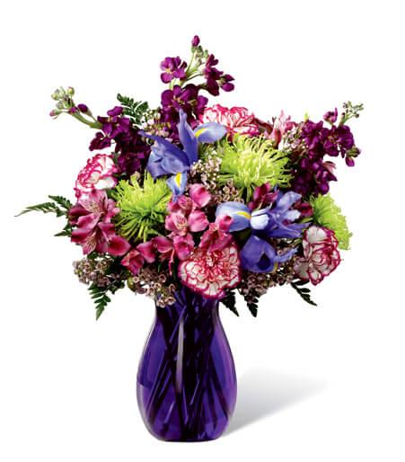 La gratitude cultive le bouquet